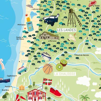 Belle Carte «Vacances en Aquitaine»
